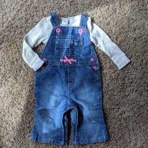 Overall set, Old Navy 6-12 mo